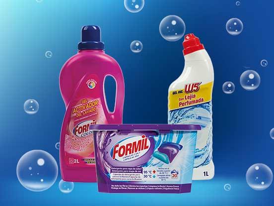 Productos de limpiezas Lidl (Formil y W5) con varios descuentos
