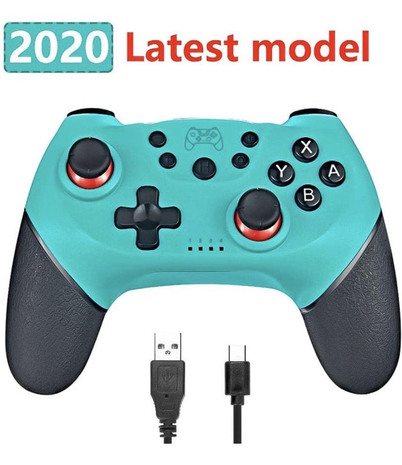 Phiraggit Controlador inalámbrico para Nintendo Switch, controlador inalámbrico Bluetooth, control remoto