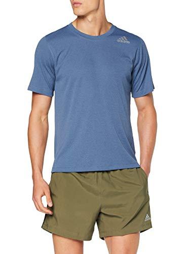 TALLA S - adidas FreeLift Climachill 3-Stripes tee Men, Camiseta para Hombre