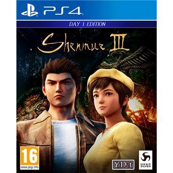 Shenmue III - PS4 (socios 7,99 € / no socios 9,99 €)