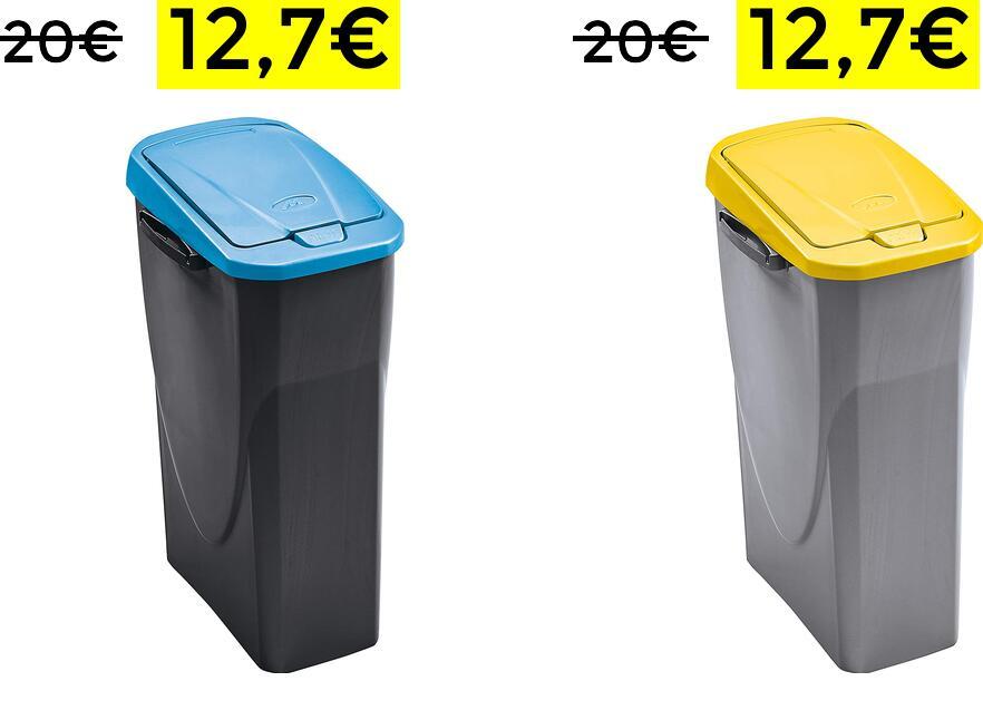 Cubo Ecobin Mondex 25 litros 12,7€
