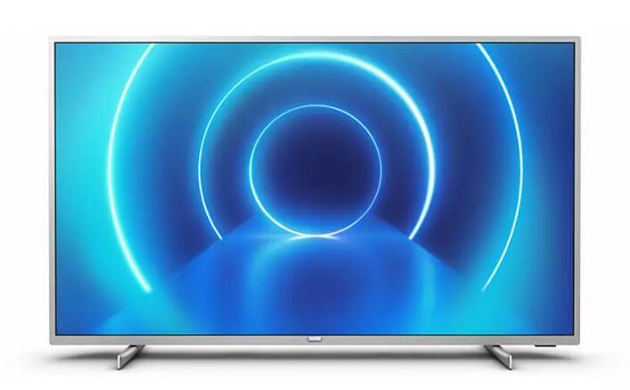 """TV LED 50"""" - Philips 50PUS7555/12, UHD 4K, 3840 x 2160 píxeles, Smart TV, P5, 3 HDMI, 2 USB, Plata"""