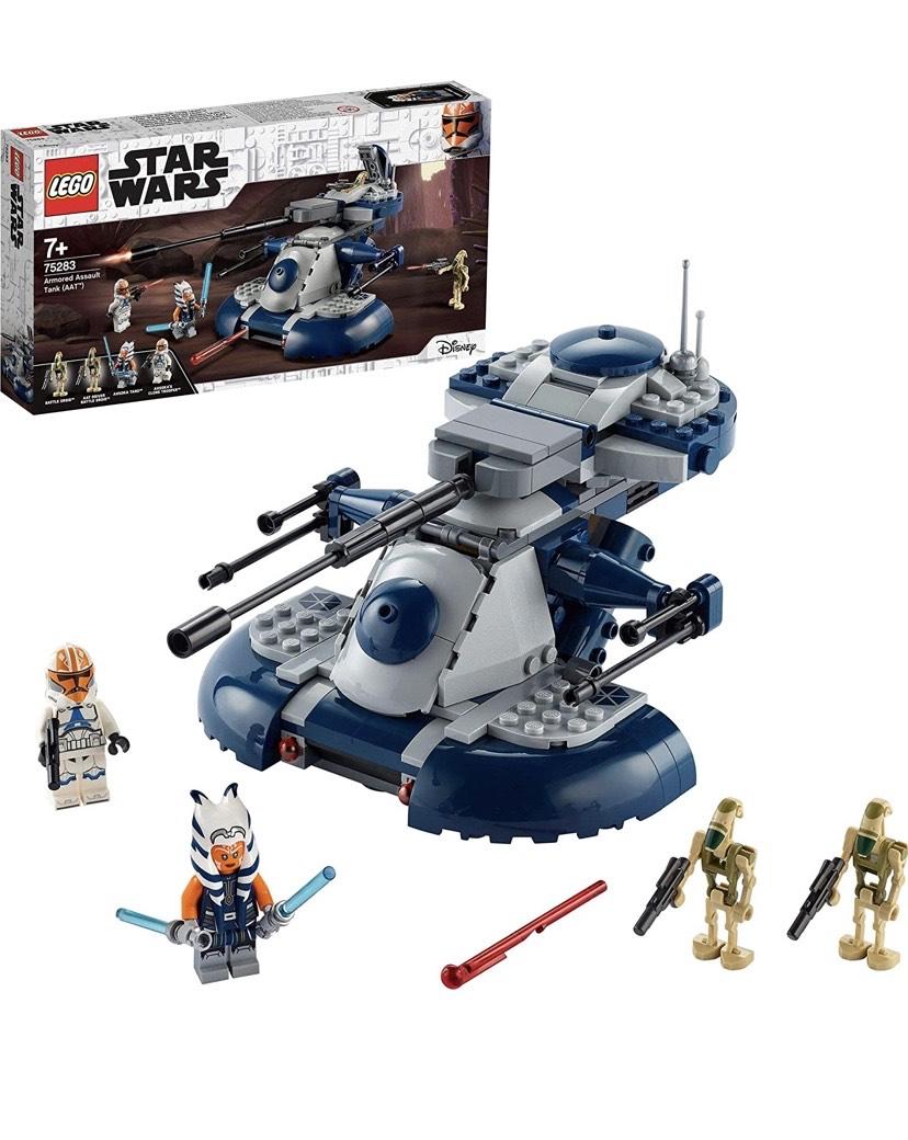 LEGO Star Wars TM Tanque Blindado de Asalto (AAT) Set de Juguete con Minifigura de Ahsoka Tano,