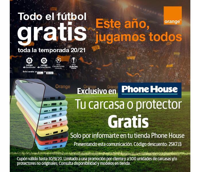 Carcasa o protector GRATIS en PhoneHouse