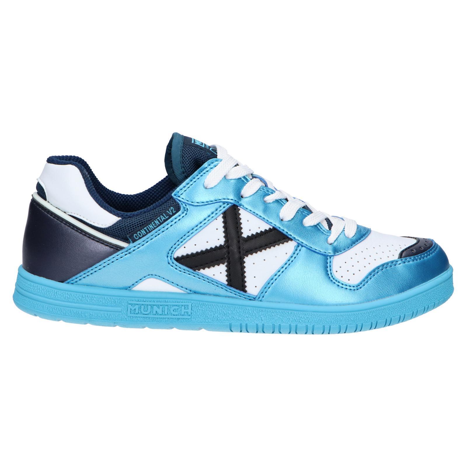Zapatillas munich continental v2 azul