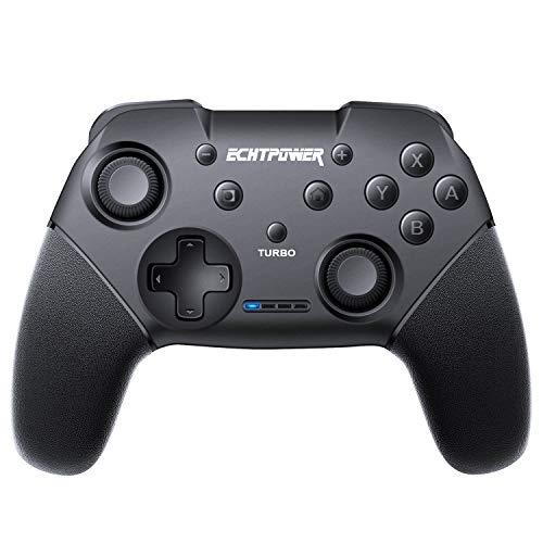 Mando para Nintendo Switch Apoya Vibración, Turbo y Giroscopio, Controlador Bluetooth Inalámbrico