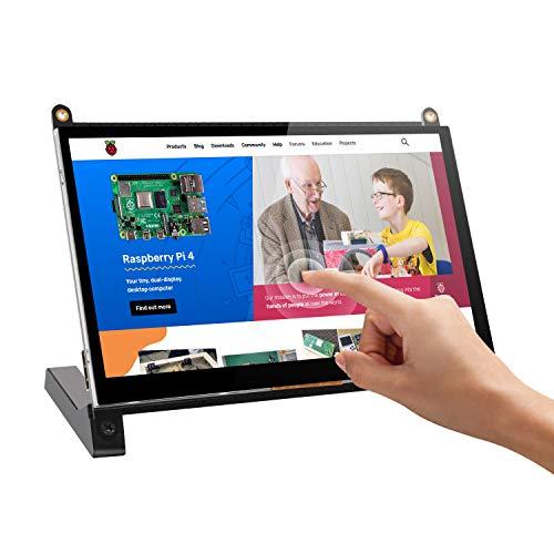 Raspberry PI Monitor de Pantalla Táctil, UPERFECT Monitor Portátil IPS HDMI 7 Pulgadas