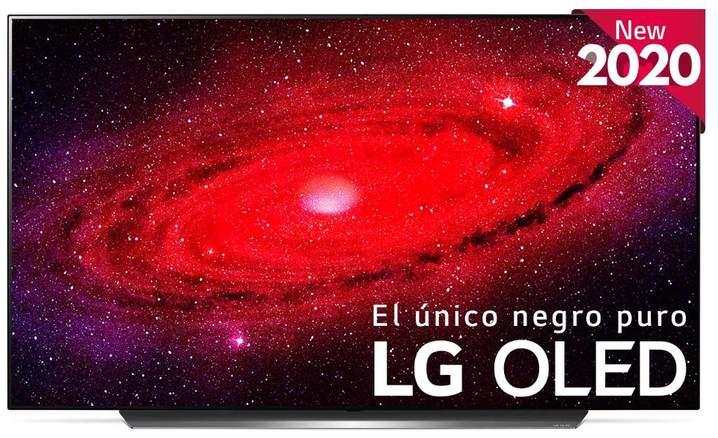 TV LG OLED55CX6LA - UHD 4K, Smart TV ThinQ AI, A9 Gen3, 100% HDR, Dolby Vision IQ Atmos, HGiG