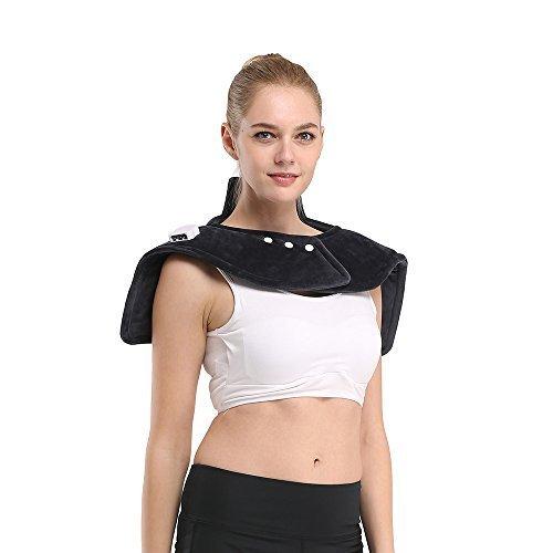 iGuerburn Almohadilla eléctrica para cuello, cervicales, hombros y espalda