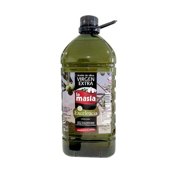 Aceite de oliva Virgen Extra LA MASÍA 5 L.