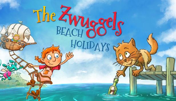 Los Zwuggels: vacaciones en la playa | Juego de PC para niños