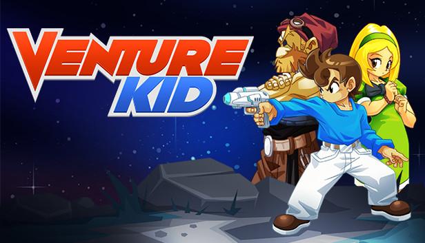 Venture Kid | Plataformas retro de 8 bits para PC (Steam)