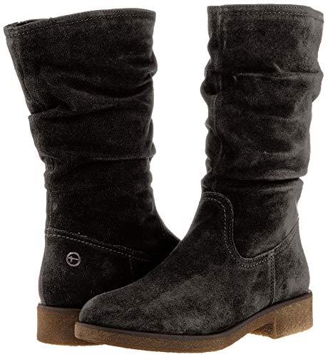 Tamaris.Botas altas para mujer.Num 36.Color negro.