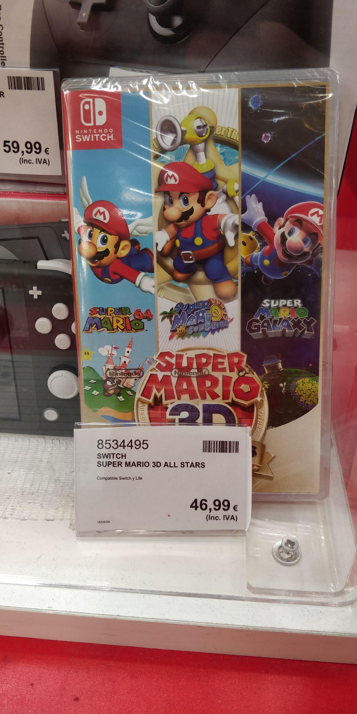 *Costco Getafe* Super Mario 3D All Stars (Nintendo Switch)