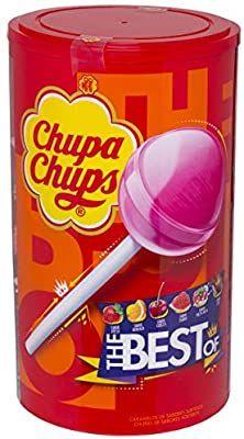 Chupa Chups Original. Sabores Variados 100 unid/12gr.