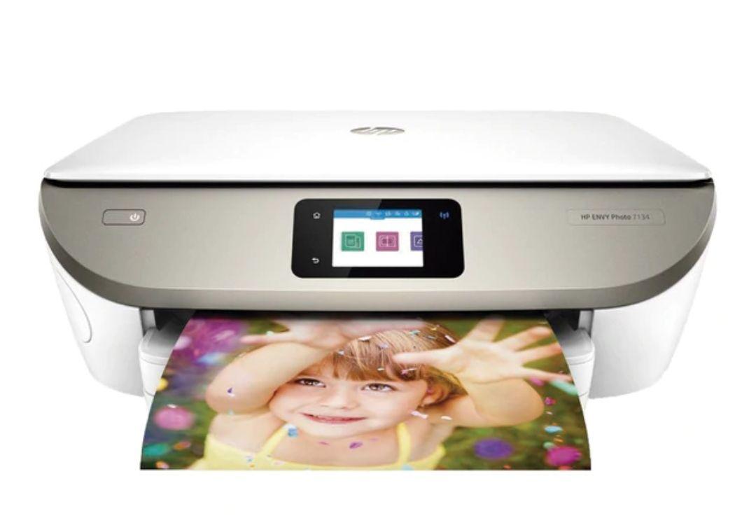 Impresora multifunción tinta HP Envy Photo 7134 Wi-Fi, compatible con Instant Ink + 5 meses de tinta gratis