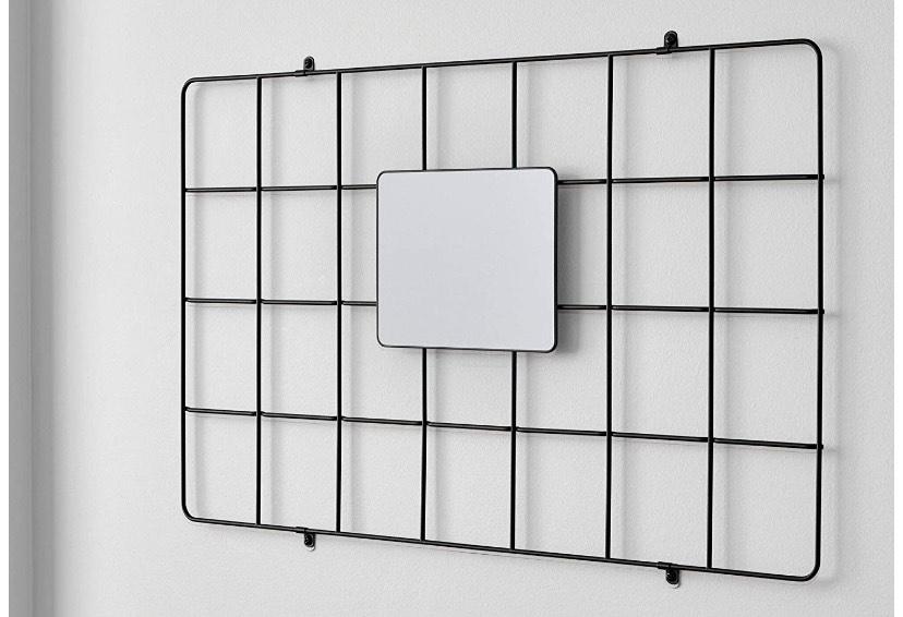 iDesign Espejo colgante para sistema modular, pequeño espejo de metal
