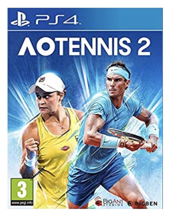 AO Tennis 2 PS4 [versión española]