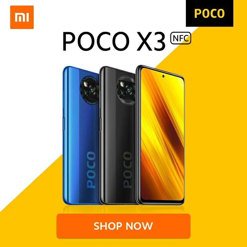 Poco X3 NFC 6gb + 64gb desde España