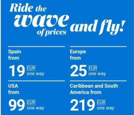Grandes Descuentos en Air Europa - prórroga