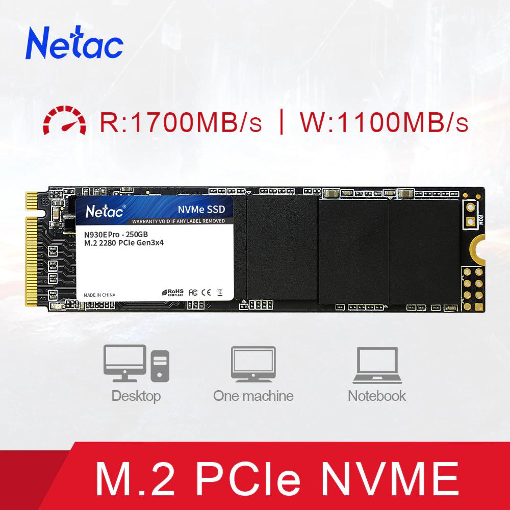 SSD NETAC M2 NVMe 1TB 69,25€ (China)