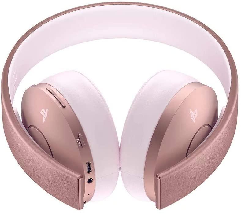 Sony - Wireless Rose Gold Headset para PS4 -Desde España-