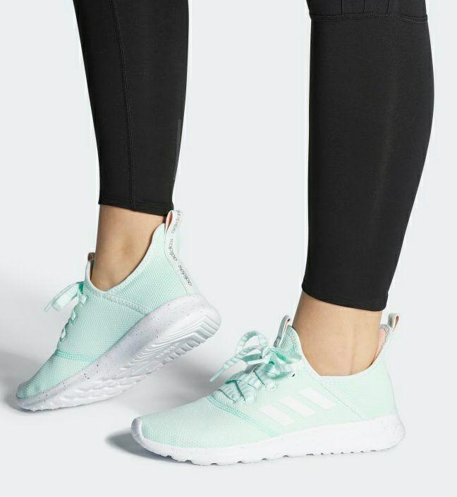 Zapatillas Adidas de chica Cloudfoam Pure Ice Mint Tallas (36-36 2/3-37 1/3-38-38 2/3)