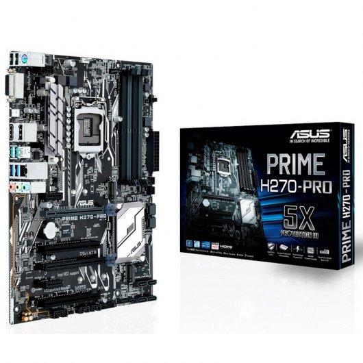 Placa base  Asus Prime H270-Pro