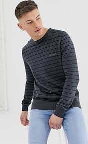 Jersey de rayas en punto 100% algodón de Lambretta