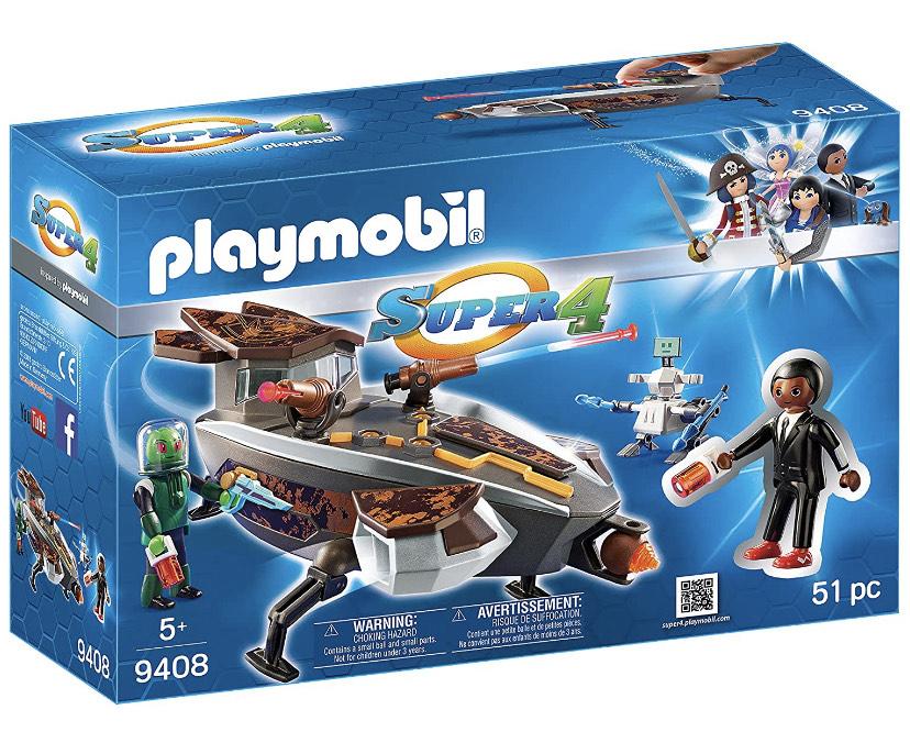 PLAYMOBIL-Gene y Sykroniano con Nave y Robot