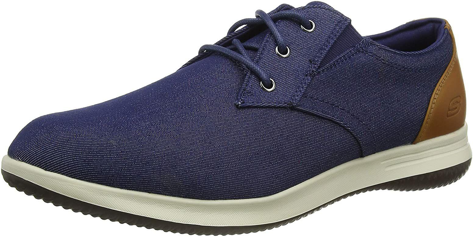Skechers Darlow Remego, Zapatillas para Hombre Talla 39