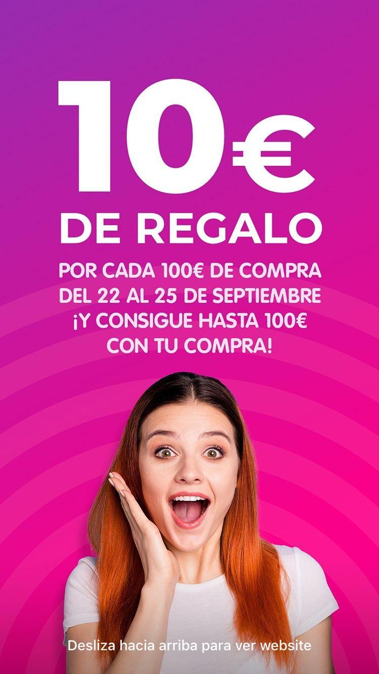 Cashconverter 10€ de regalo por cada 100€ de compra