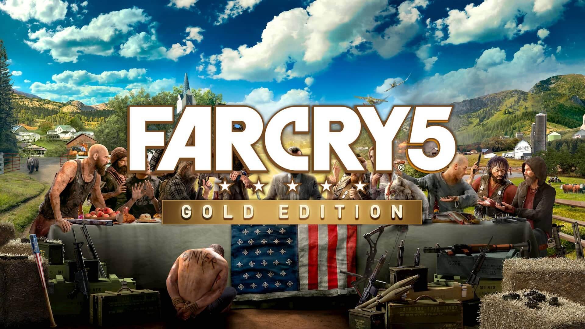 Far Cry 5 Gold : Edición Estándar + El pase de temporada + Far Cry 3 Classic Edition en Epic Games Store