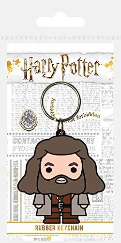 2 MODELOS - Pyramid International Harry Potter - Llavero Hagrid Chibi y Dobby
