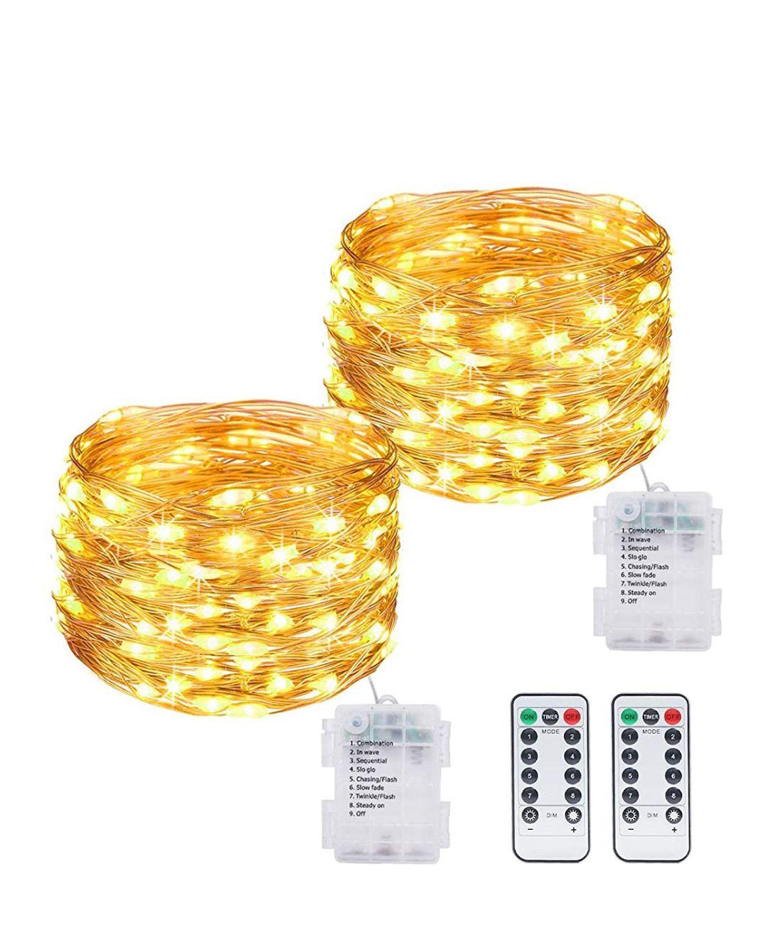 Guirnalda Luces 12m 120 LED Luces