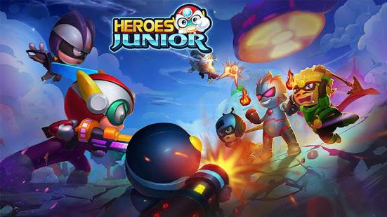 Superheroes Junior: Robo Fighting para Android