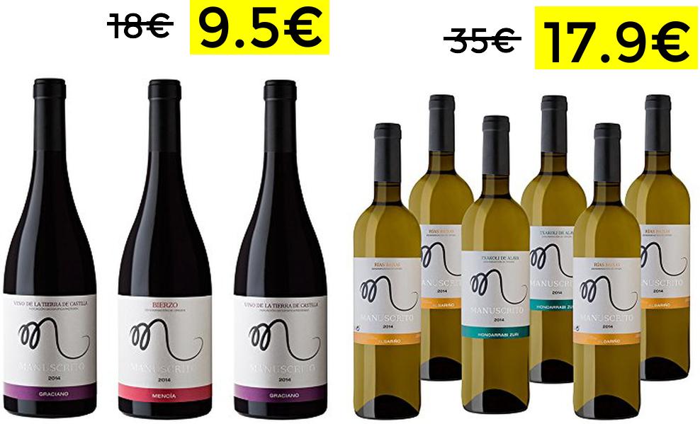 Selección de vinos desde 9.4€