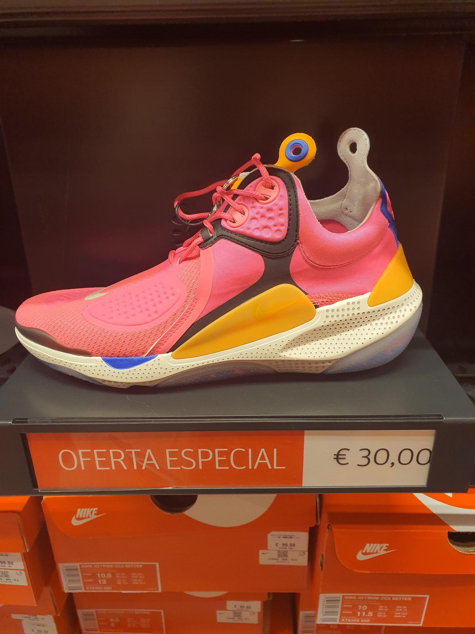 Nike joyride rosas en nike factory Alcorcón Madrid