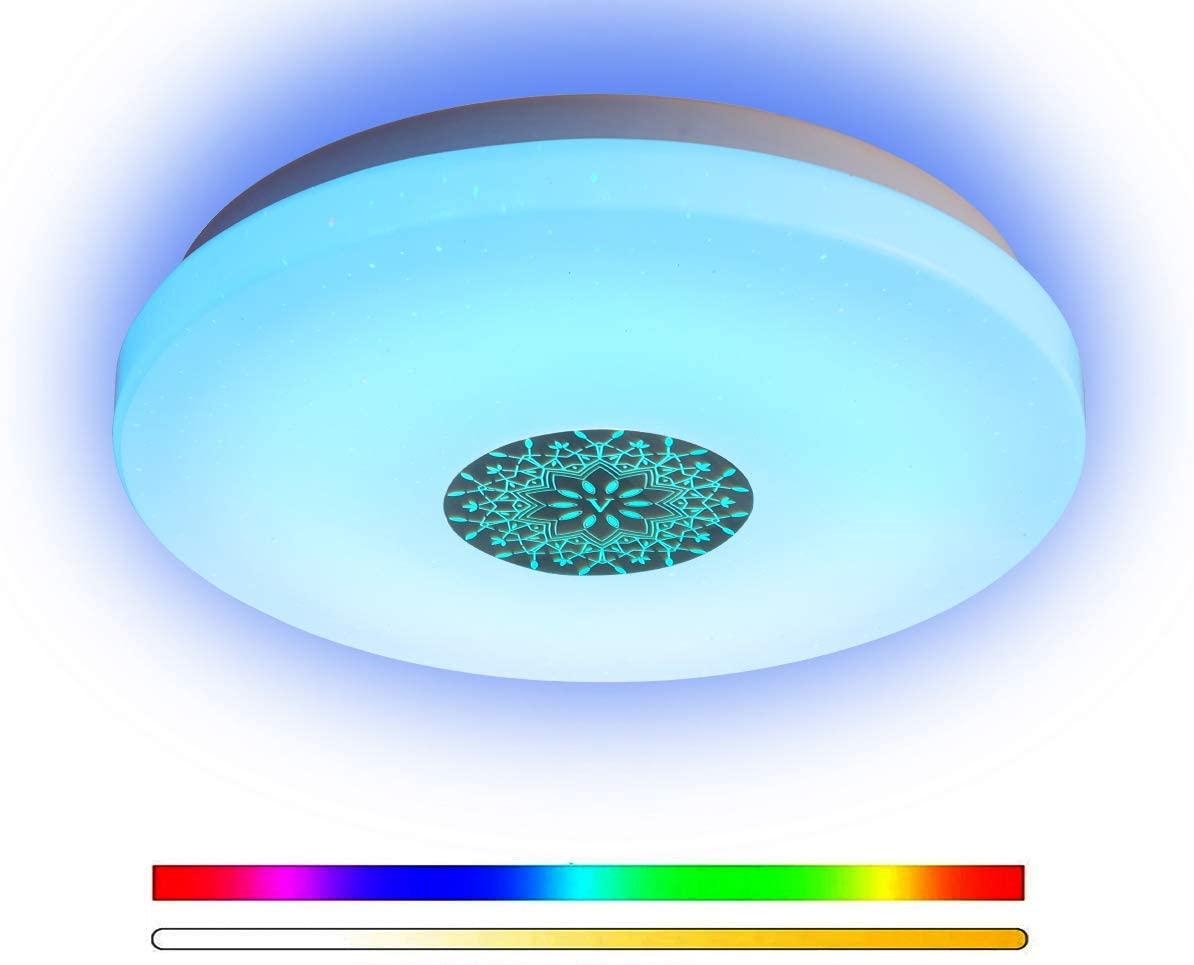 ANYES Luz de techo smart [Alexa o Google Home]