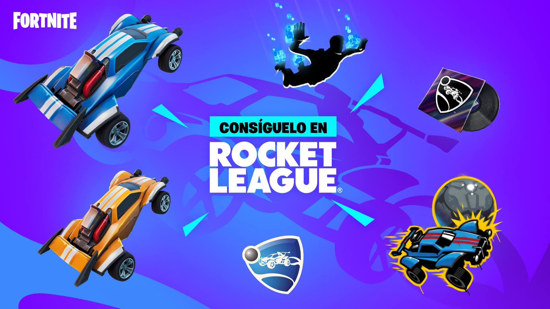 Recompensas Gratis Fortnite y Rocket League