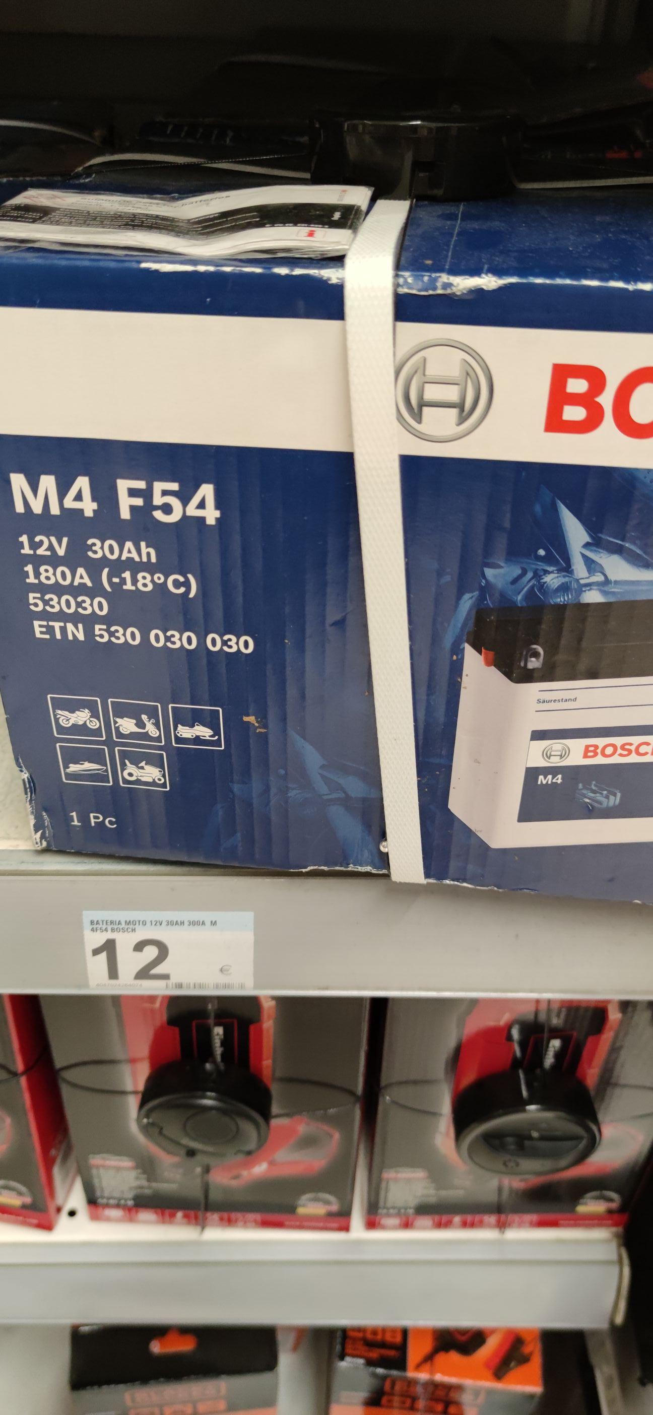 Batería moto Bosch m4 f54