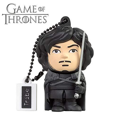 Llave USB 16 GB Jon Snow - Memoria Flash Drive 2.0 Original Game of Thrones.