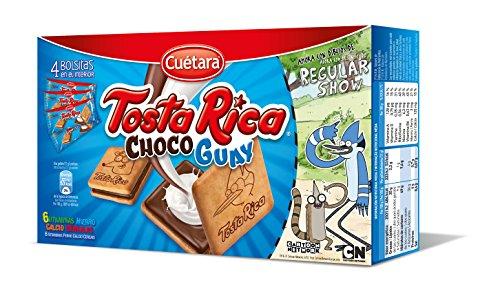 Cuétara - Tosta Rica Choco Guay - Galletas Sándwich Rellena de Crema de Leche