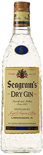 Seagram's Dry Ginebra Premium - 700 ml (Comprando 2 unidades)