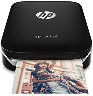 HP Sprocket z3z92 a Impresora Fotográfica Instantánea Portátil.