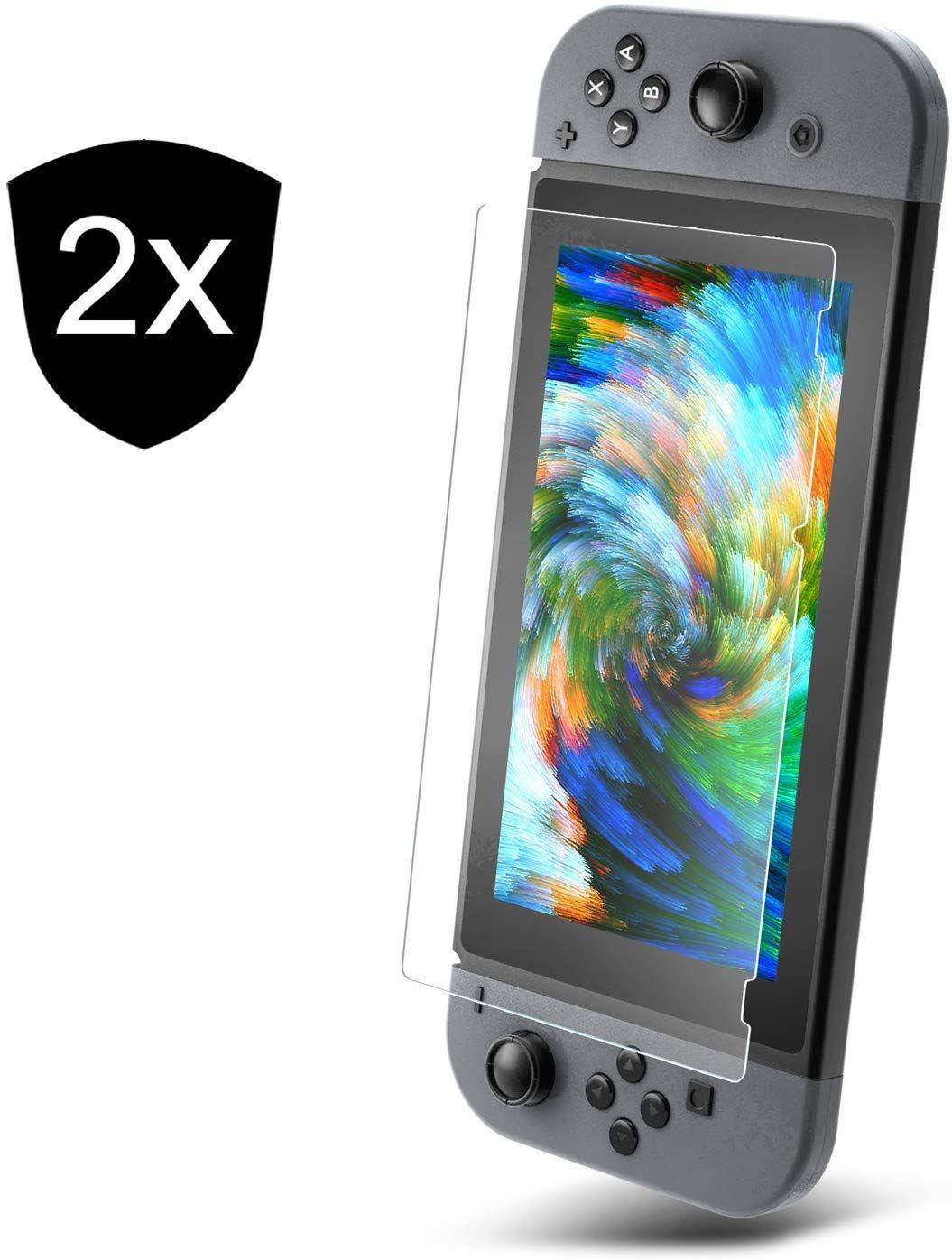 2 x Protectores Nintendo Switch