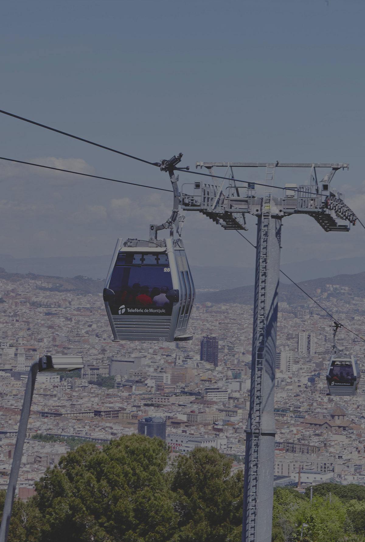 Telefèric de Montjuïc a mitad de precio (ida y vuelta)