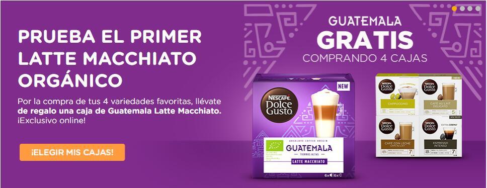Caja Latte Macchiato Orgánico Guatemala GRATIS! + PROMO EXTRA EN LA DESCRIPCION.