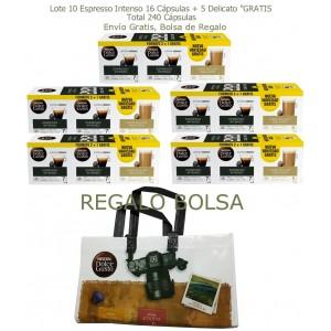 Chollazo Dolce Gusto 240 cápsulas + Bolsa Gratis a 0,17€ unidad con envío gratis