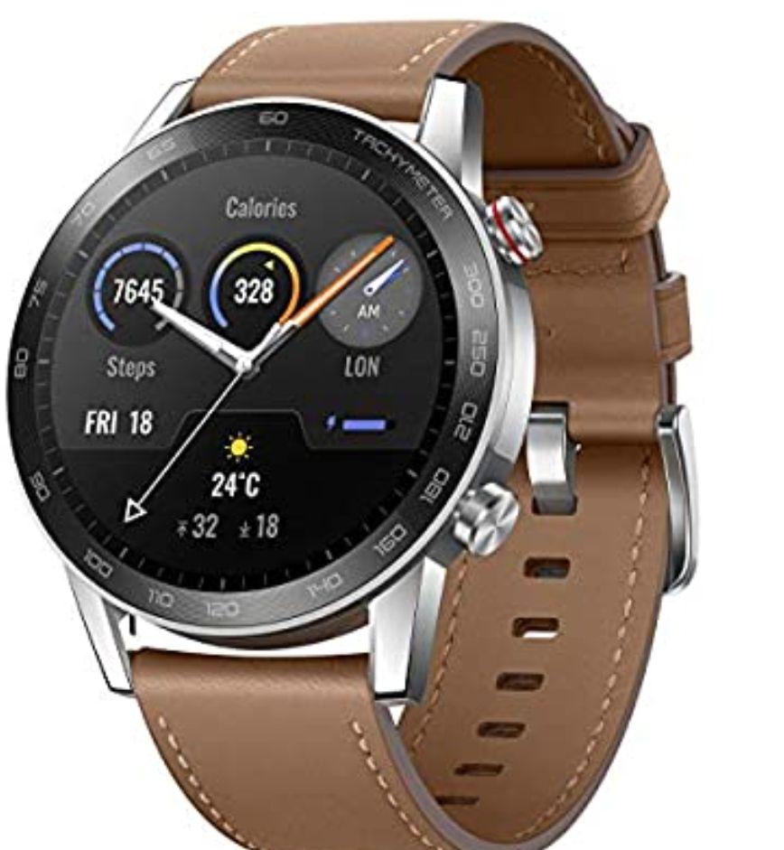 "HONOR Smartwatch Magic Watch 2 46mm ,pantalla Táctil AMOLED de 1.39"", GPS, 15 Modos"